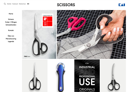 kai scissors mood image